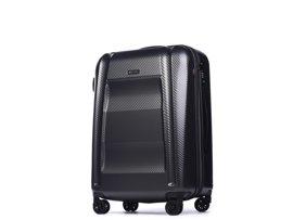 Średnia walizka PUCCINI PC017 B szary antracyt